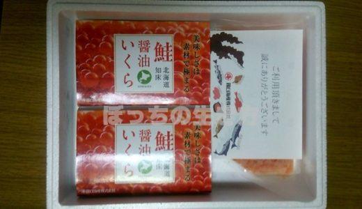 北海道羅臼町のふるさと納税返礼品「さけ醤油いくら・鮭とろセット」はおすすめ!!