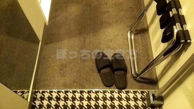 リソル秋葉原の室内は靴を脱いでスリッパ