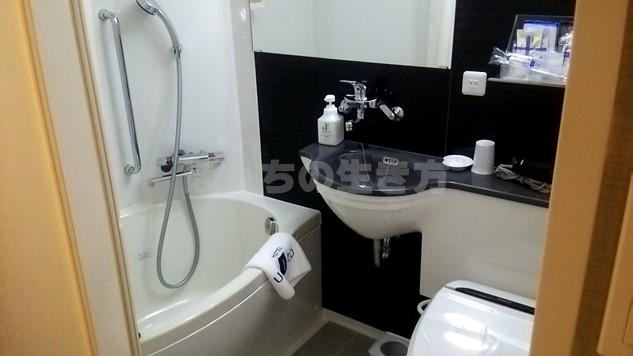 ユニゾホテル京都四条烏丸のバスルーム