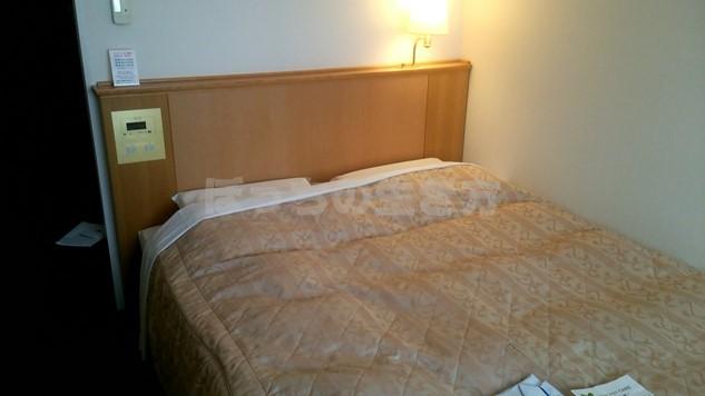 ホテルユニゾ新橋のベッド