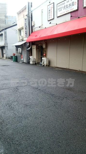 和歌山駅からぶらくり丁のイットコホルモン