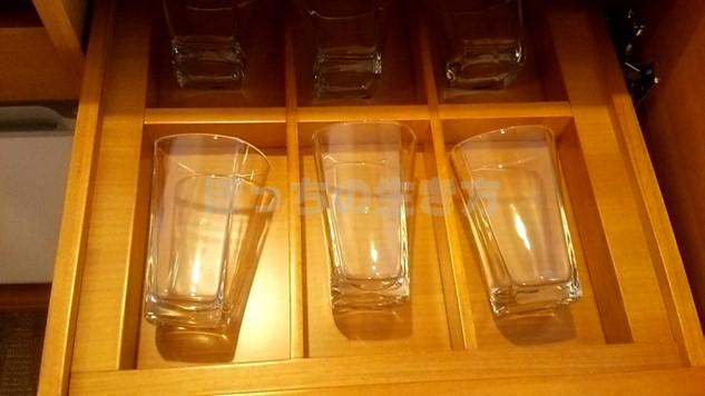 シェラトン広島のグラス
