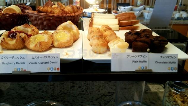 シェラトン広島の朝食マフィン