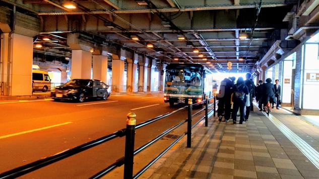 リーガロイヤルホテル大阪のシャトルバス