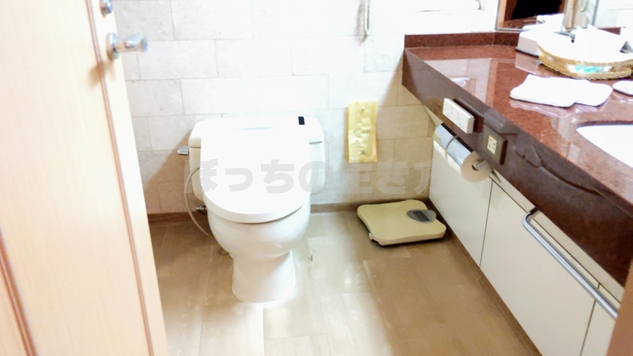 ナチュラルコンフォートフロアのトイレ
