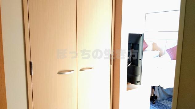 ナチュラルコンフォートフロアのクローゼットのドア