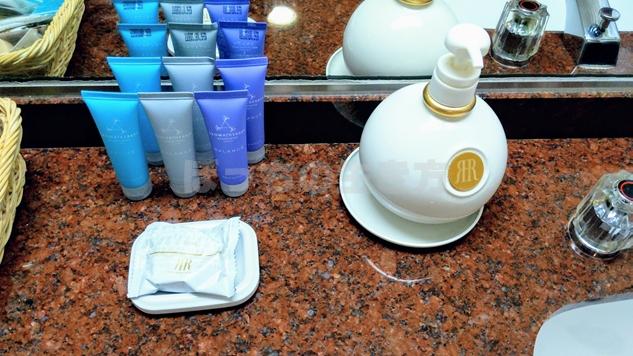 ナチュラルコンフォートフロアのシャンプーと手洗い石鹸