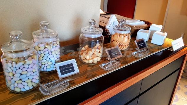 19階カフェラウンジのピーナッツチョコ
