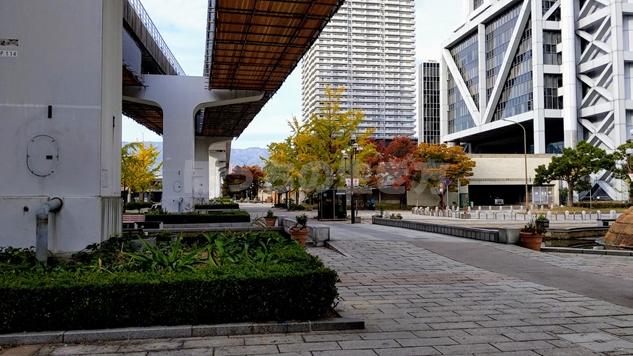 神戸ベイシェラトンホテルの周辺散歩