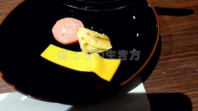 トワイライトサービスのハムとチーズ
