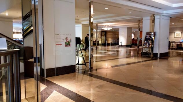 神戸ベイシェラトンホテルのレセプション