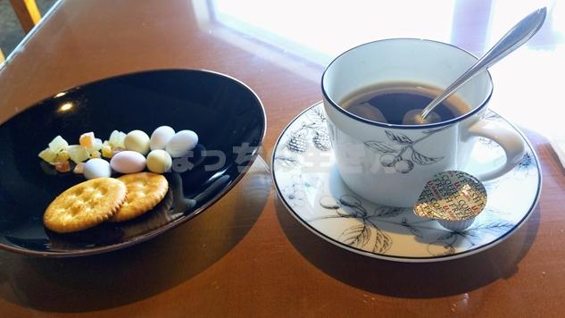 シェラトン神戸の朝食サービス終了後のティータイム