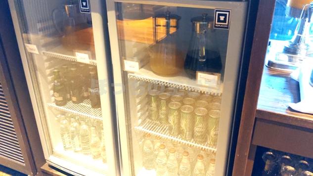 神戸ベイシェラトンホテルのクラブラウンジのジュース