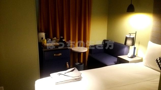 リソルホテル桜木町のモダレットシングルルーム