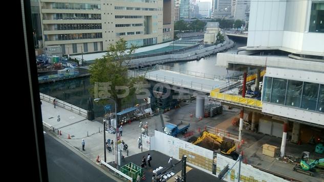 リソルホテル桜木町の沿道