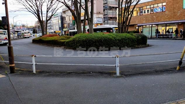 JR高尾駅のバス乗り場