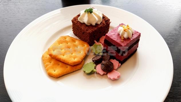 アゴーラリージェンシー堺のティータイムのケーキ