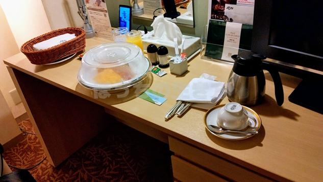 リーガロイヤルホテル大阪のルームサービス朝食