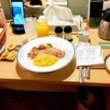 リーガロイヤル大阪のルームサービス朝食はアメリカンブレックファースト