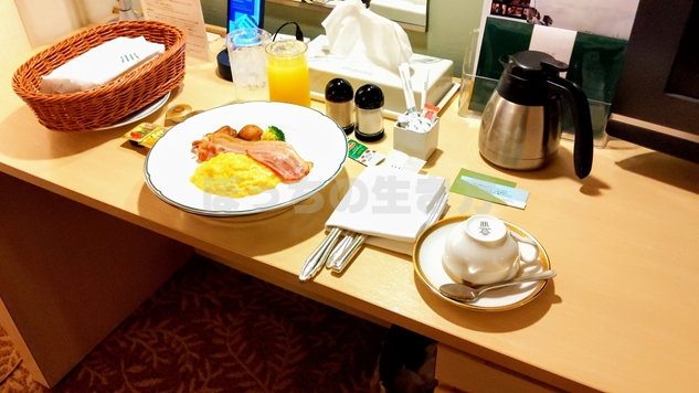 リーガロイヤルホテル大阪のアメリカンブレックファースト