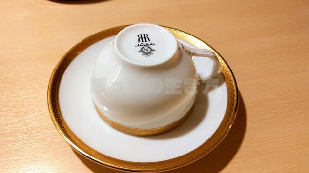 リーガロイヤル大阪のコーヒーカップ