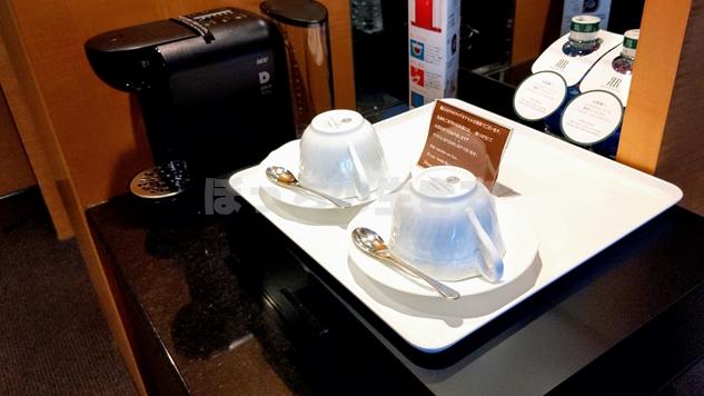 リーガロイヤル大阪のエグゼクティブフロアのコーヒー