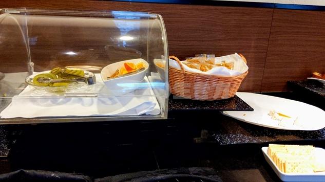 リーガロイヤル大阪のエグゼクティブラウンジのフルーツ