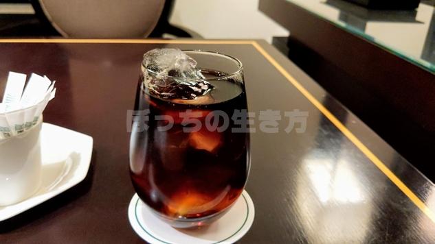 リーガロイヤル大阪のアペリティフドリンクのコーラ