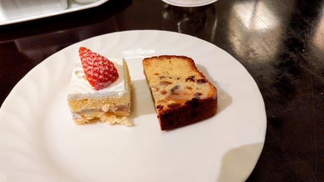 アペリティフドリンクタイムの苺ショートケーキ