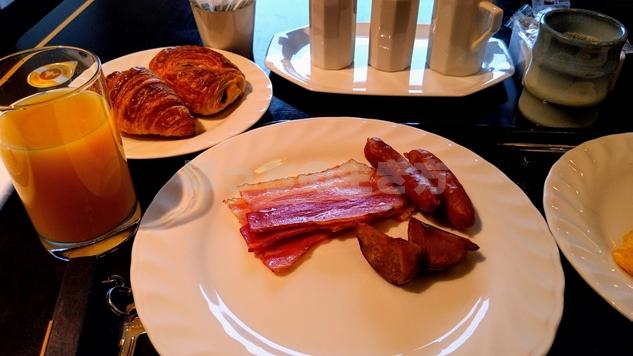 リーガロイヤル大阪のエグゼクティブラウンジの朝食