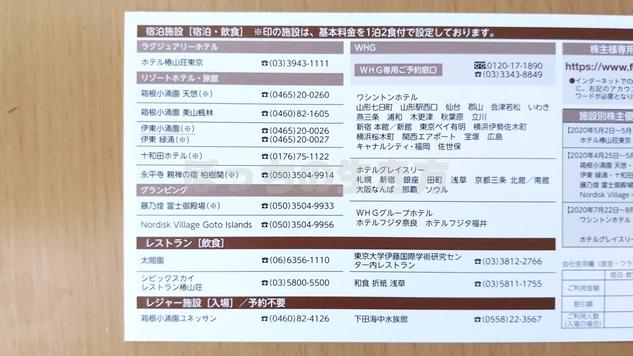 藤田観光の株主優待券で宿泊できるホテル一覧
