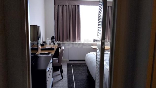 東京プリンスホテルのスーペリアダブルルーム