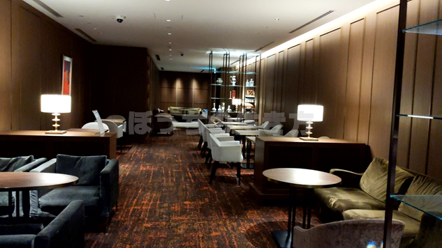 東京プリンスホテルのクラブラウンジ