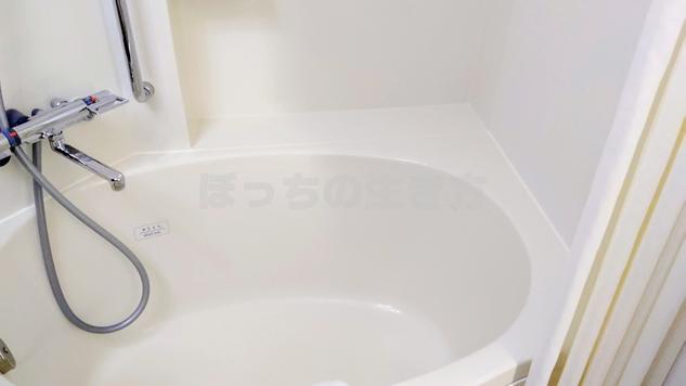ホテルユニゾ銀座一丁目のバスルームの浴槽