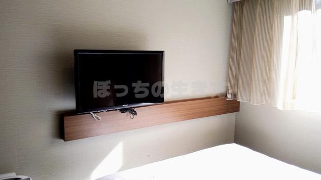 ホテルユニゾ銀座一丁目のテレビ