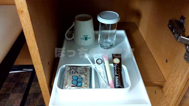 ユニゾイン浅草のコーヒーとお茶