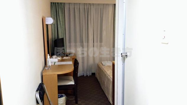ユニゾイン浅草のシングルルームに宿泊