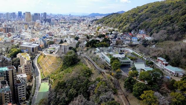 ANAクラウンプラザホテル神戸からの景色