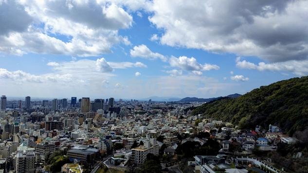 ANAクラウンプラザホテル神戸の海側風景