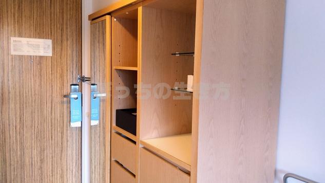 ANAクラウンプラザホテル神戸の戸棚