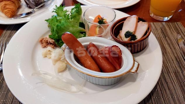ANAクラウンプラザホテル神戸のクラブラウンジ朝食