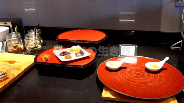 ANAクラウンプラザホテル神戸のクラブラウンジの和食