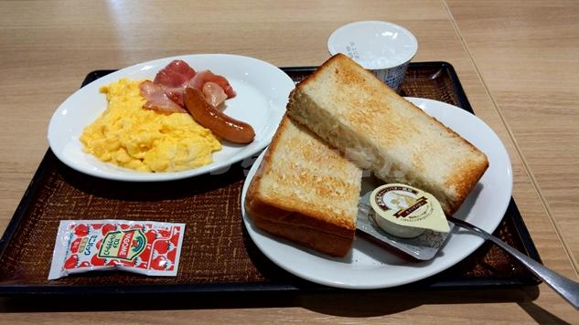 デニーズの朝食モーニング