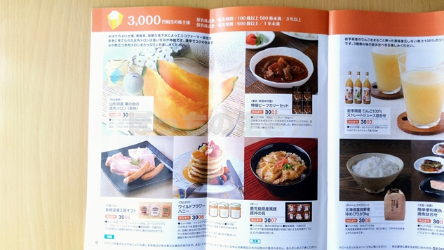 ゲームカードジョイコのカタログギフト3,000円の内容