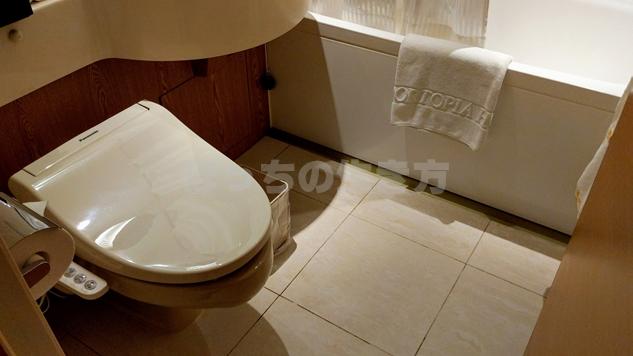 神戸ポートピアホテルクラブフロアのバスルーム