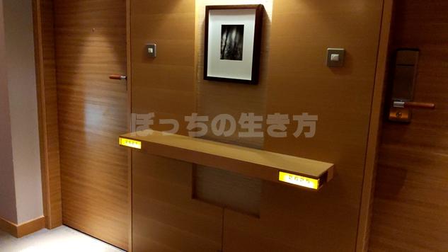 神戸ポートピアホテルオーバルクラブのドア