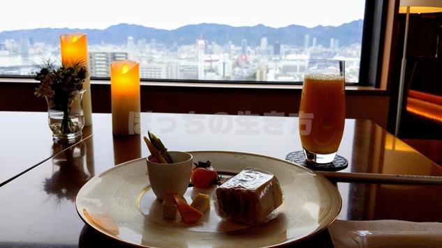 神戸ポートピアホテルのオーバルクラブのアペリティフタイム