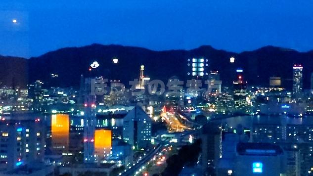 神戸ポートピアホテルからの夜景