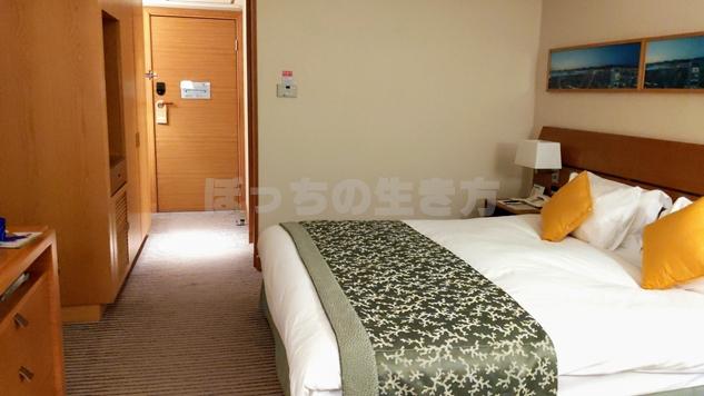 神戸ポートピアホテルのクラブフロアシングルルーム