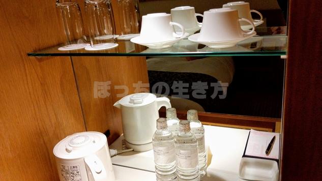 神戸ポートピアホテルのコーヒーマシン